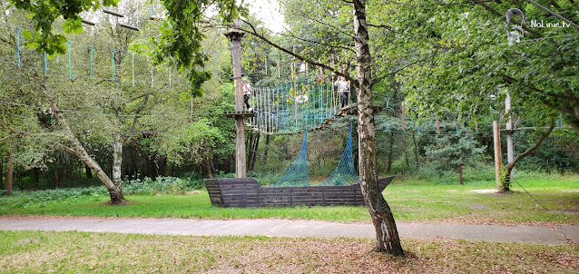 Park linowy na opolszczyźnie