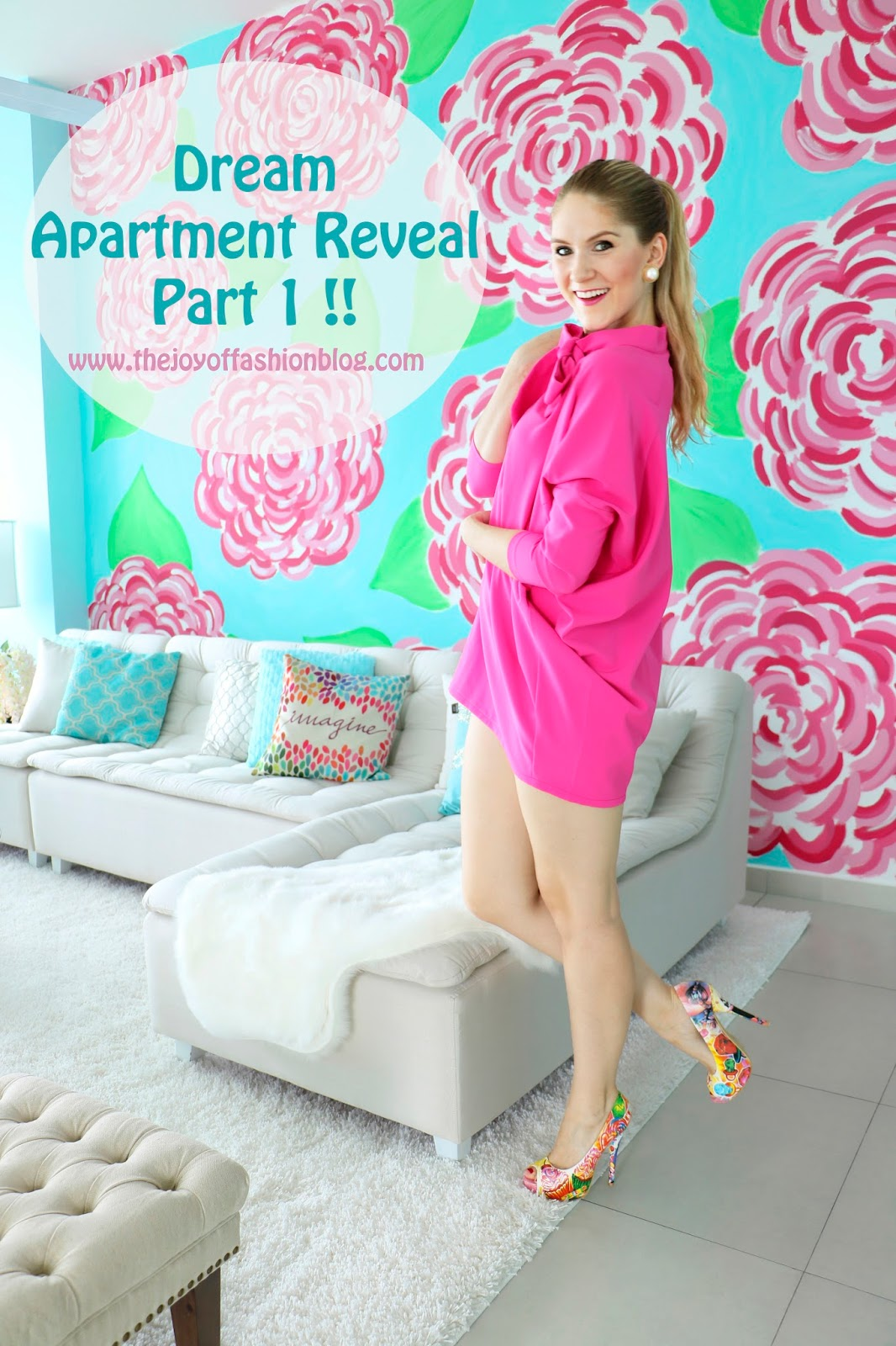 Ever wonder what a blogger's home looks like? Click through to find out!
