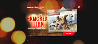 How To Get The Armored Titan Bundle In Free Fire....