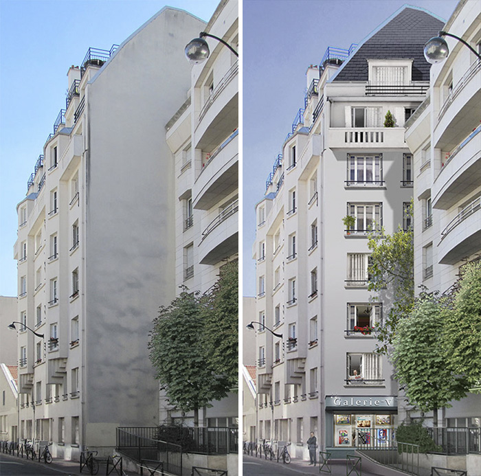 French Artist Transforms Boring City Walls Into Vibrant Scenes Full Of Life - La galerie V