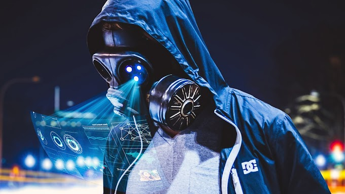 Anonimo Máscara do Futuro