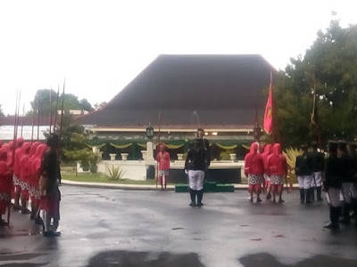 upacara ganti dwaja kadipaten pakualaman