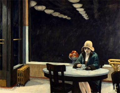 Automat (1927) by Edward Hopper
