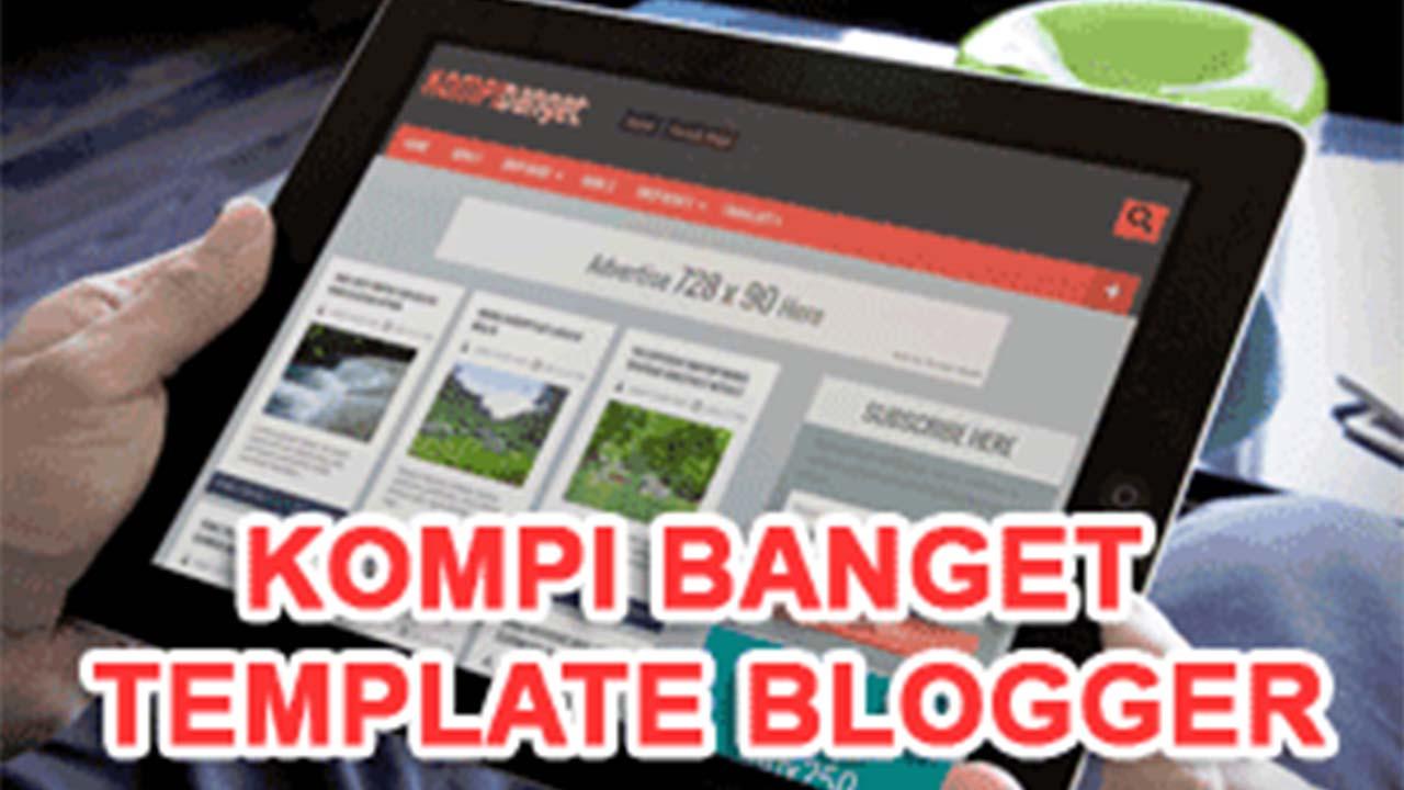 Template Blogger Valid HTML5 Dan CSS3