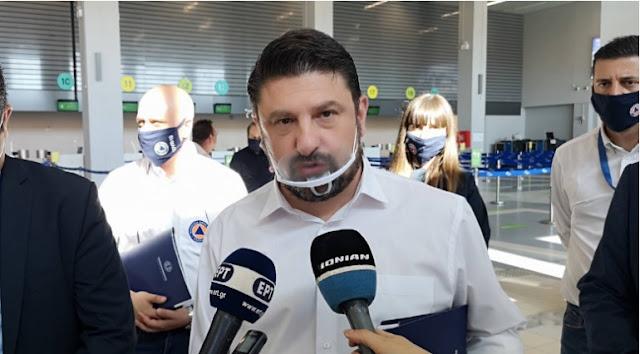 Nikos Hardalias says Greece - Albania border will remain closed