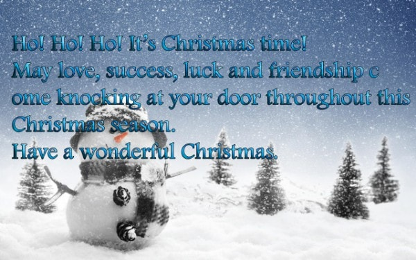 Merry Christmas quotes for a Special Friend