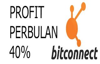 Cara Mendapatkan Profit 40 Persen per Bulan Bitconnect