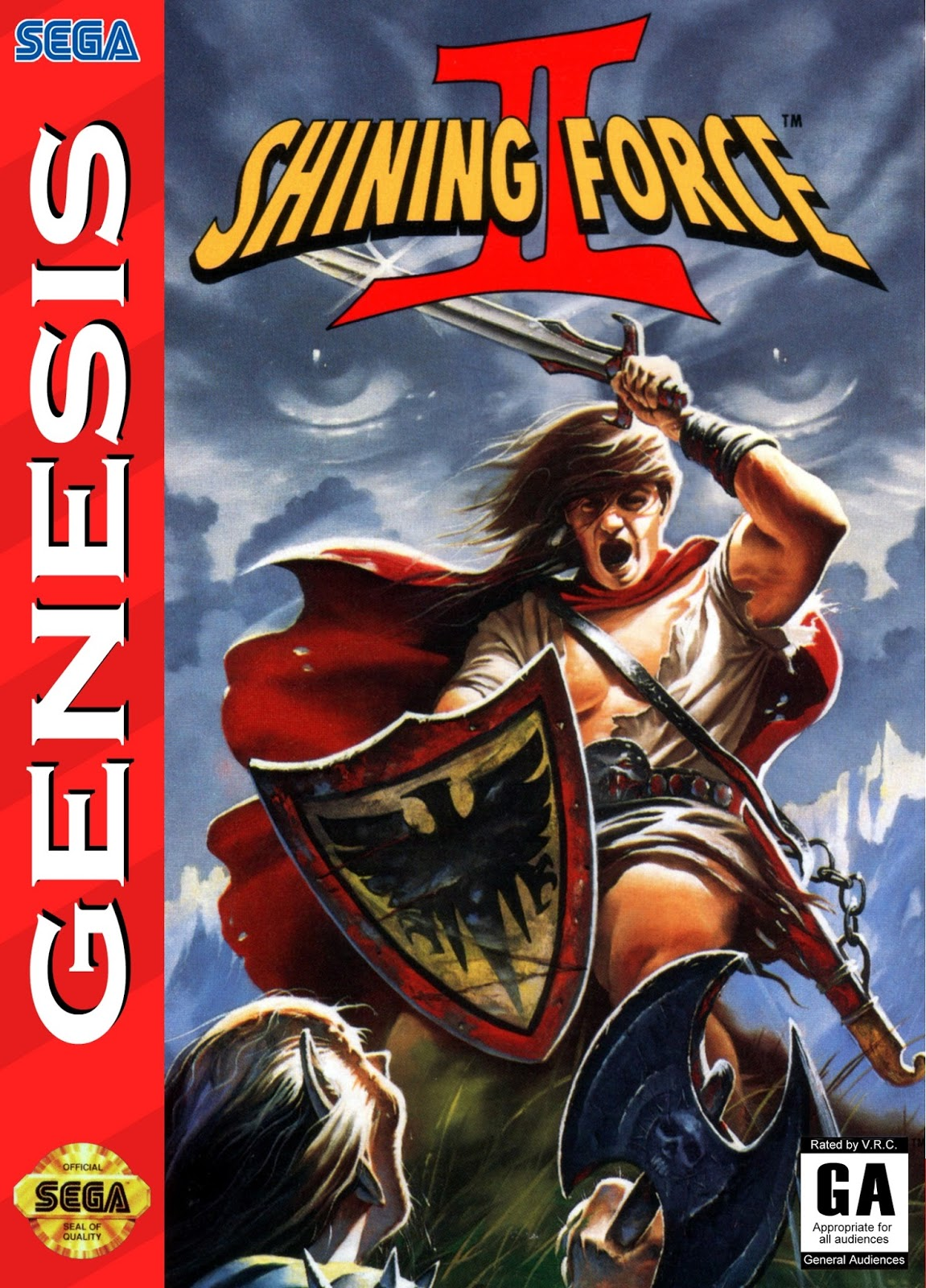 And Then She Games: That's A Wrap: Shining Force 2