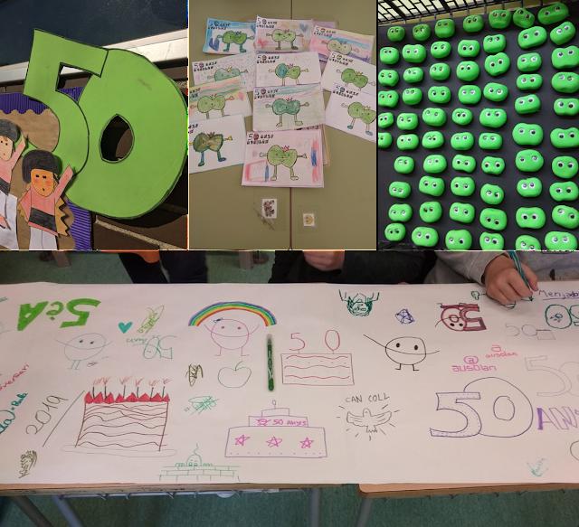 Imatges de la festa de 50 aniversari d'Ausolan