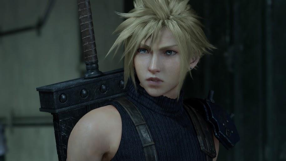 Cloud Strife Final Fantasy 7 Remake 4k Wallpaper 36