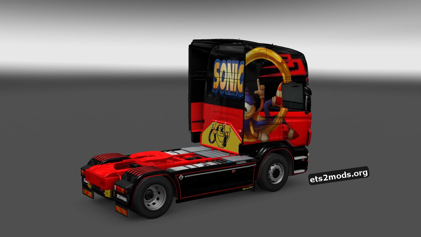 Scania RJL Sonic Skin