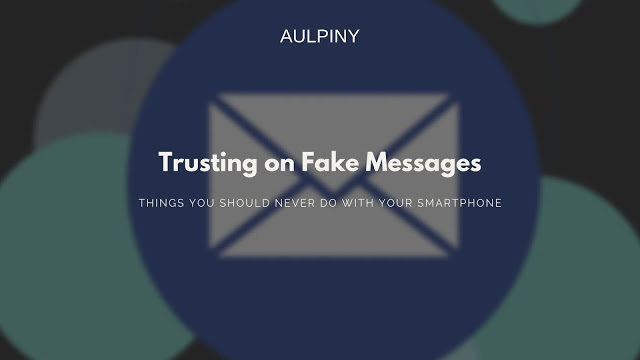 Trusting on Fake Messages