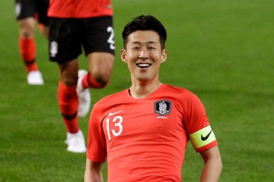 Son Heung-Min là tiền đạo người Hàn Quốc.
