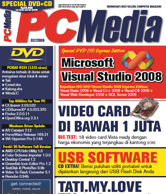 Download Kolekasi Majalah PC MEDIA Edisi Lama 2008