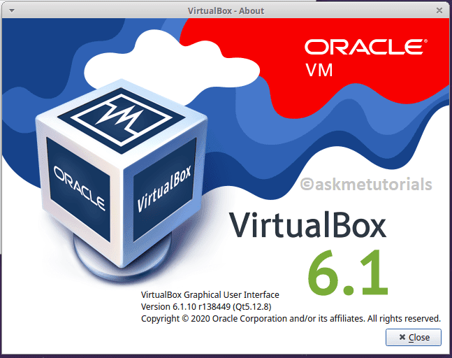 Install Oracle Virtualbox 6.1.10 in Ubuntu 20.04 LTS / LinuxMint