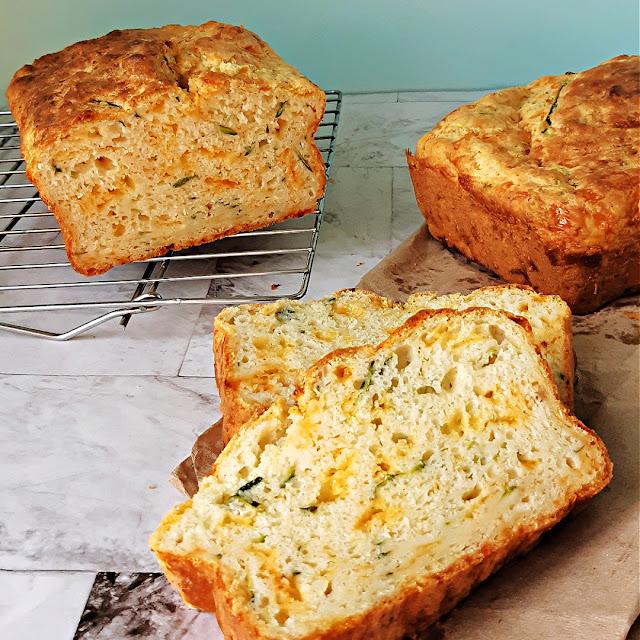 Zucchini Cheddar Loaf