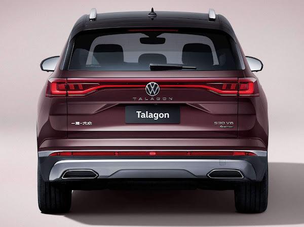 Volkswagen Talagon - traseira