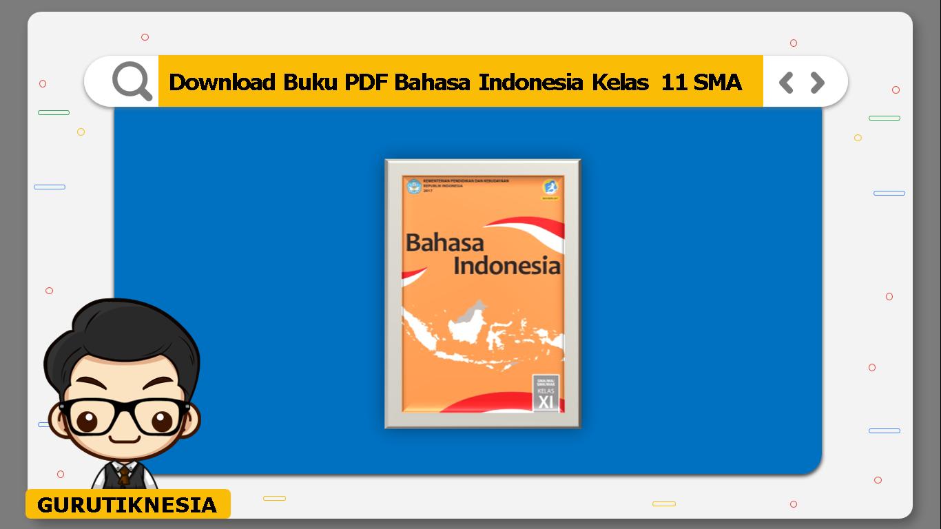 download buku pdf bahasa indonesia kelas 11 sma/ma