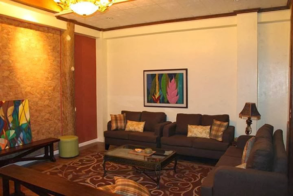 Couch area - main house