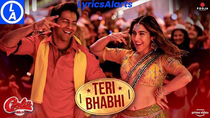 Teri Bhabhi Lyrics in English – Coolie No. 1 | LyricsAlarts