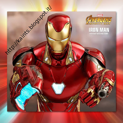 Avengers: Infinity Wars - Ironman Mark 50 by Hot Toys