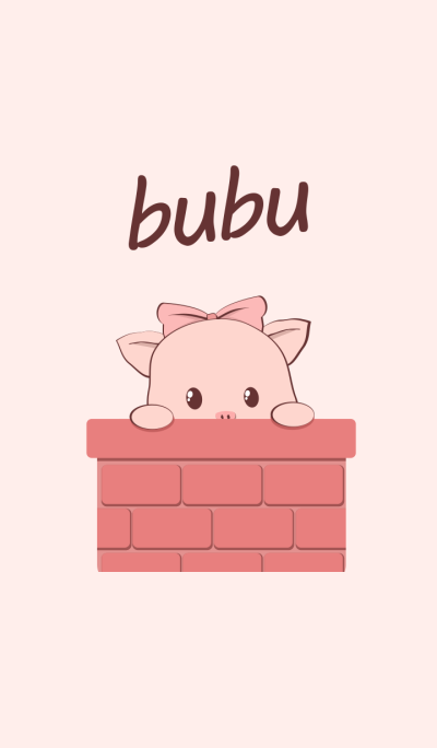 Cute pink bubu