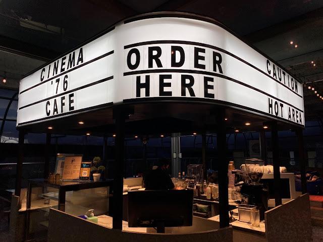Cinema '76 Cafe Anonas - Facade