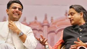 I am sad to see  Sachin Pilot  leave congress-says shashi tharoor