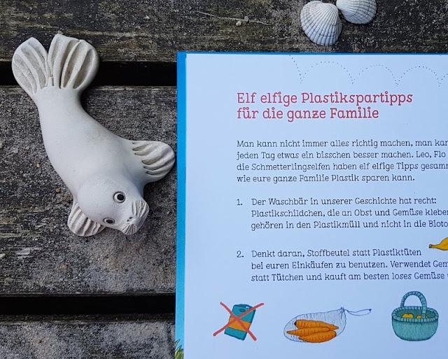 """Heute ein Buch! Die elfenstarke Umwelt-Kinderbuch-Serie """"Leonie Looping"""" und das Thema """"Müll im Meer"""". Inklusive Tipps zur Vermeidung von Plastikmüll!"""