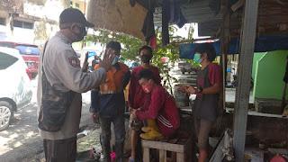 Antisipasi Penyebaran Covid 19, Bhabinkamtibmas Melayu Edukasi Warga Binaannya