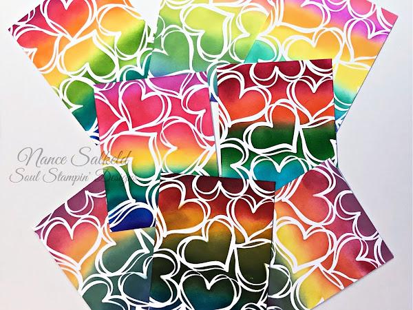 Lots of Rainbow Hearts