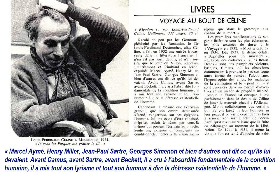 ddcc9d71ae7 Archives Louis-Ferdinand Céline