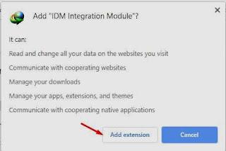 كيفية تثبيت إضافة برنامج التحميل IDM في متصفح جوجل كروم يدوياً