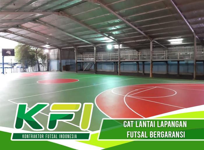 Cat Lantai Lapangan Futsal