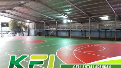 Cat Lantai Lapangan Futsal Bergaransi