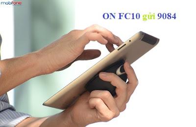 Cú pháp đăng ký gói FC10 Mobifone