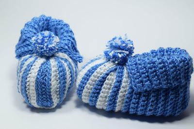 3 - Crochet Imagenes Babuchas para bebés a crochet y ganchillo. Majovel Crochet.
