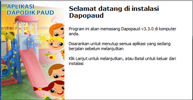 Download Aplikasi Dapodik Paud Versi 3.3.0 tahun 2018/2019