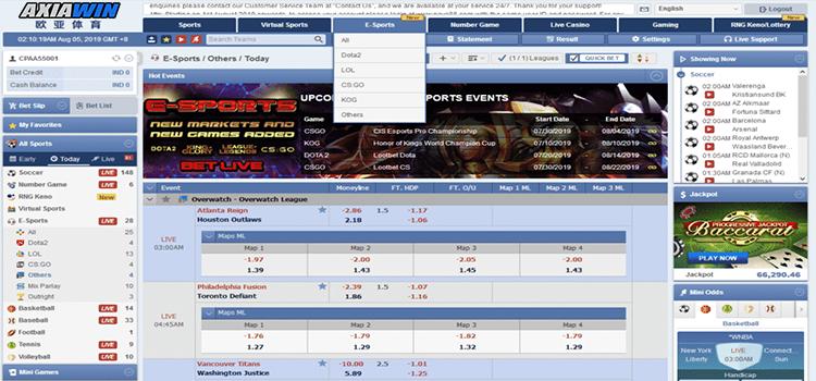 Bursa Taruhan Esports Yang Paling Menguntungkan Axiawin