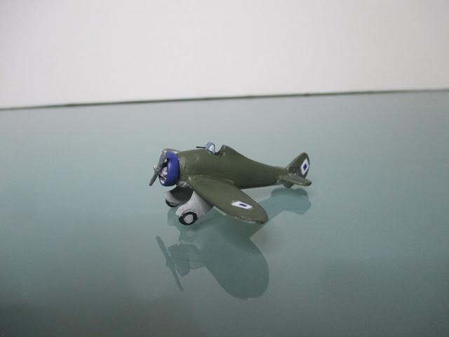 1/144 Boeing P-26 Peashooter diecast metal aircraft miniature