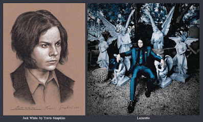 Jack White. Singer-Songwriter and Producer. Lazaretto. Third Man Records. by Travis Simpkins