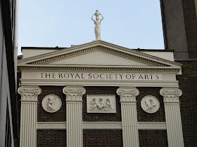 Royal Society of Arts, John Adam Street, London © A Knowles 2015
