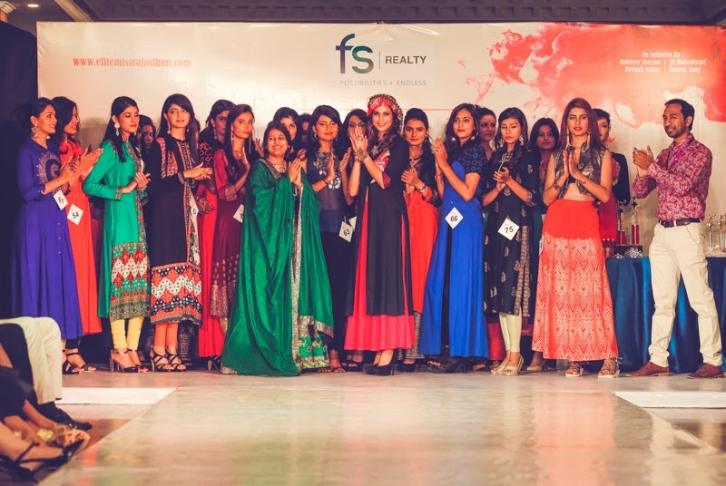 Elite Miss Rajasthan 2016