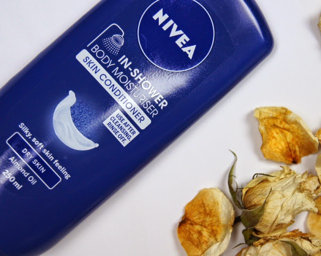 nivea in-shower dry skin body moisturiser review disappointing