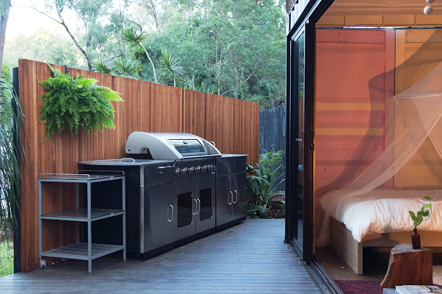 20 ft Small and Cozy Shipping Container House, NSW, Australia 13