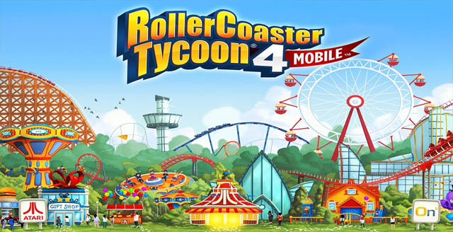 RollerCoaster Tycoon 4 Mobile v1.13.2 Mod Apk Terbaru (Free Shopping)