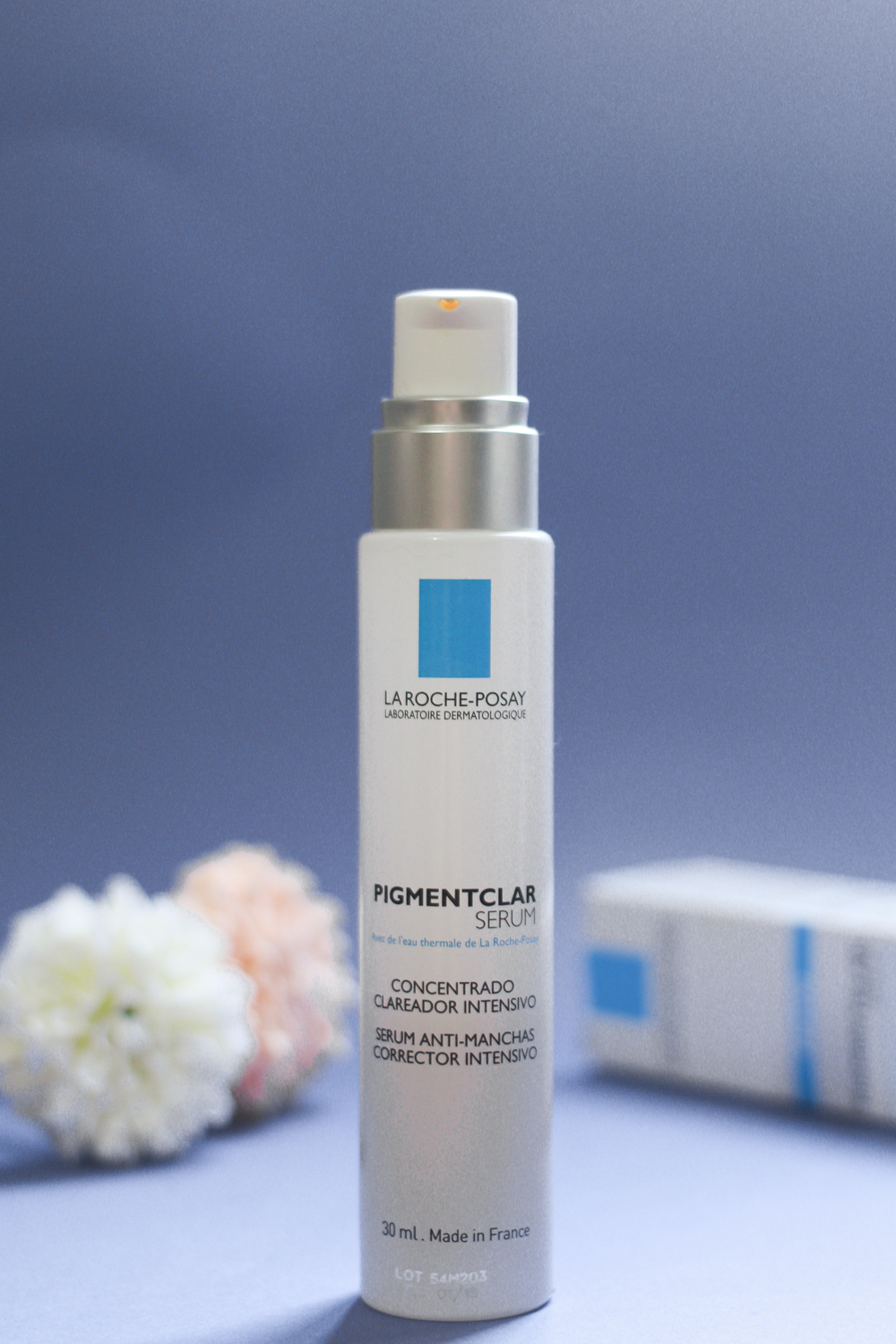 coffee & flowers blog - pigmentclar serum da la roche-posay
