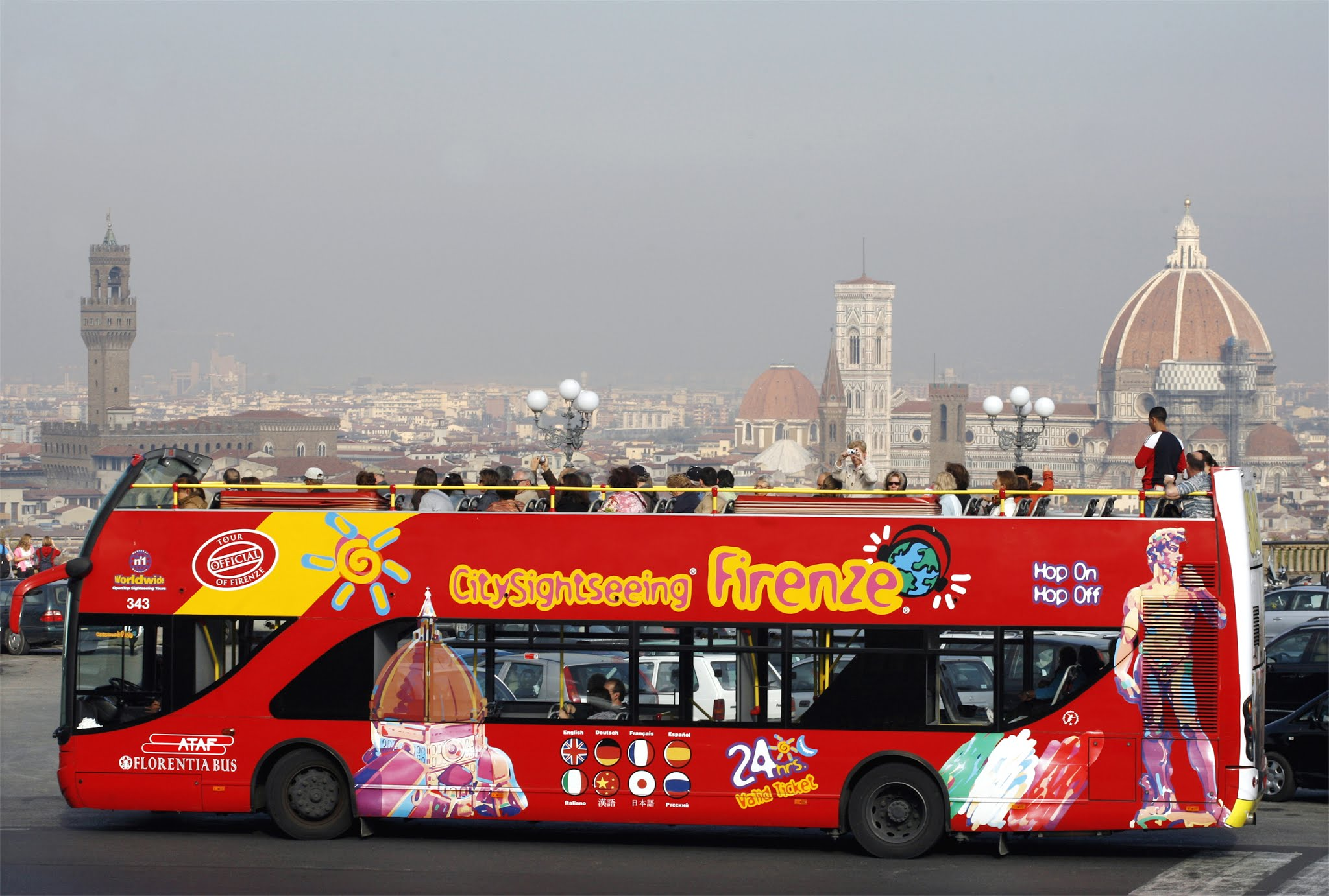 Bus City Sightseeing Florencia