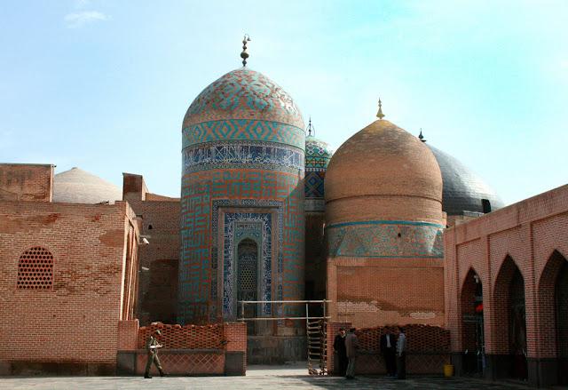 Le mausolée de Sheikh Safi al-Din, Ardebil