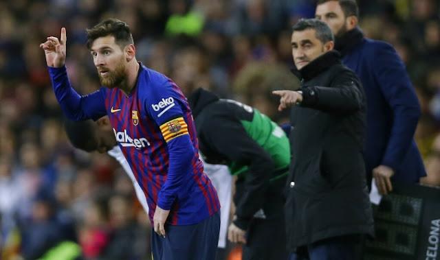 Messi sigue a la cabeza de los candidatos a la Bota de Oro 2018-2019.
